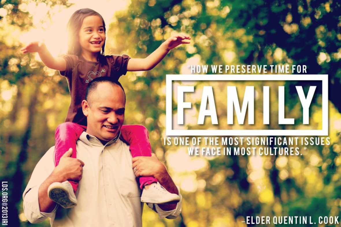 The Family -- An Heritage of the Lord
