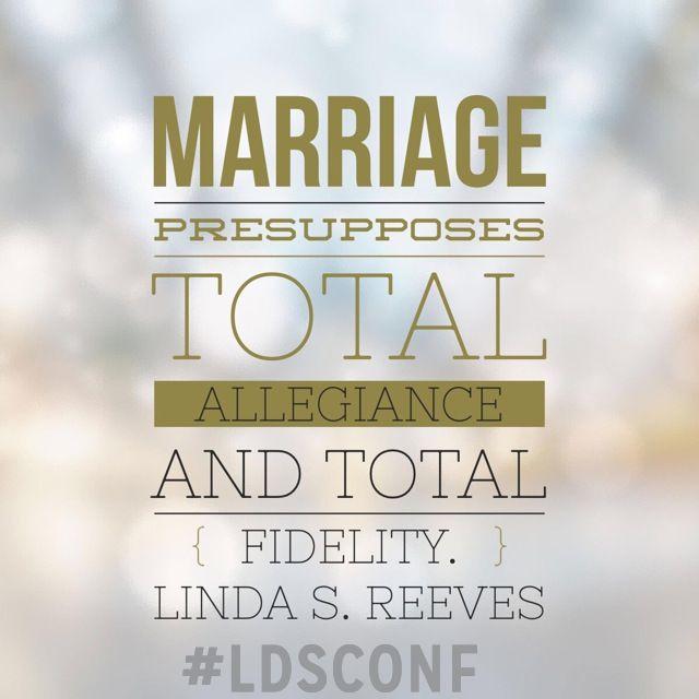 Marital fidelity definition
